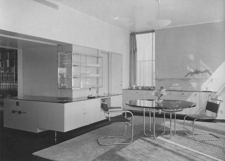 De eetkamer voor 1932