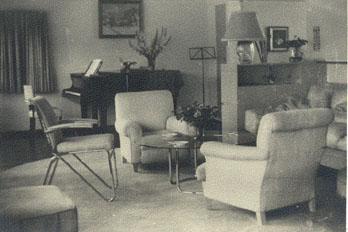 De zitkamer Van Alphen