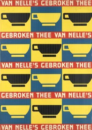 Winkeldisplay voor Van Nelle, Jac. Jongert ca. 1933