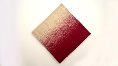 Vierkant rood wit, 1974 (foto: Leo Oostenbrug).