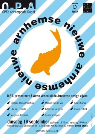 Arnhemse nieuwe, Roos Giethoorn (subwalk), ontwerpcafe september 2006.