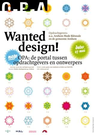 Wanted Design, Gramm, ontwerpcafe mei 2008.