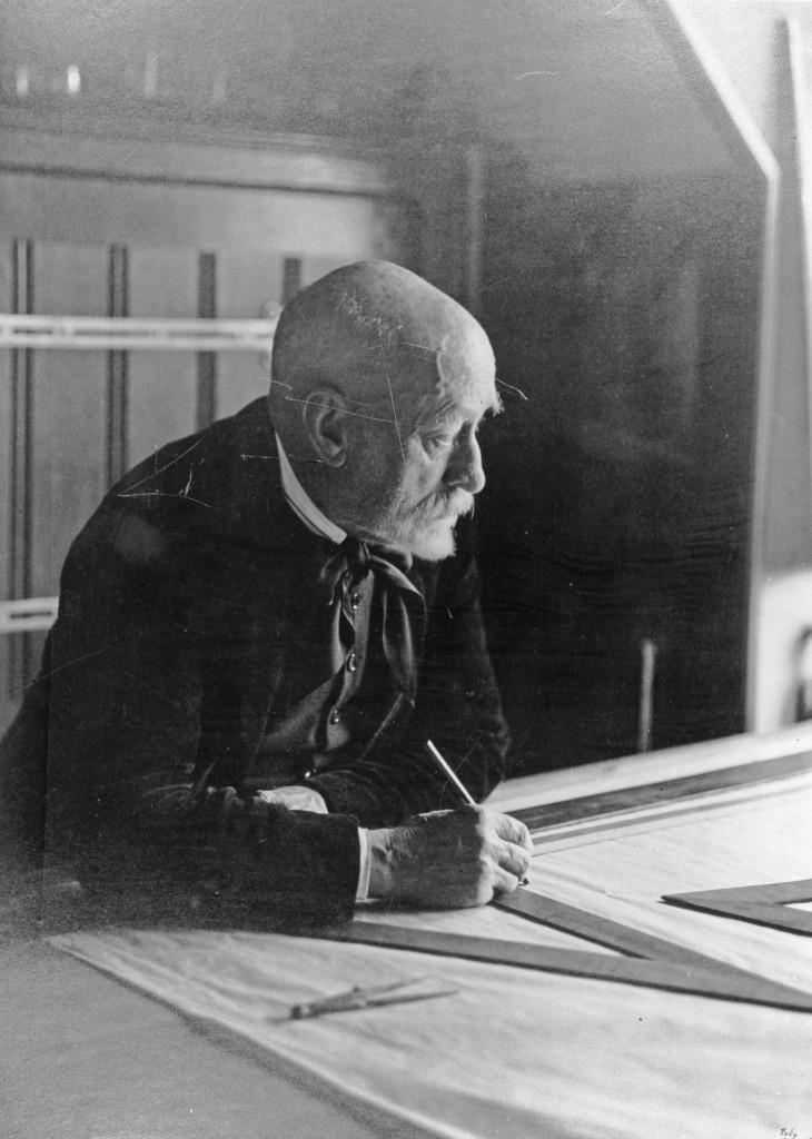 Portret H.P. Berlage, 1931, foto: A. Frequin/HGM.
