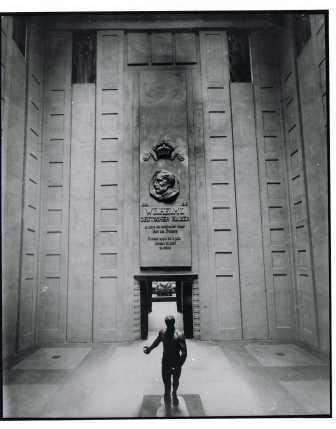 Ehrenhalle fur Wilhelm II, das Deutsche Haus 1913 (Stadsarchief Gent, foto: C. Hourez).