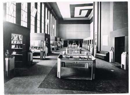 Kunstgewerbehalle im Deutschen Haus, Gent 1913 (Gents Stadsarchief, foto: C. Hourez).