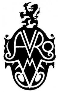 AVRO-vignet van Andre Vlaanderen, 1928.
