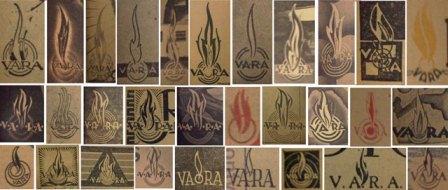 de vlammetjes van de VARA door de jaren heen.