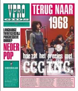 Omslag VPRO-gids van Piet Schreuders uit 2005 die verwijst naar het blad Hitweek uit 1968.
