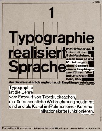 omslag TM Wolfgang Weingart 1972