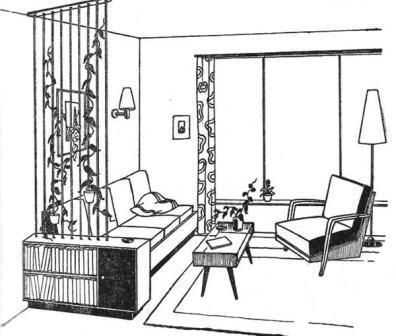 Reisgids voor modern wonen designgeschiedenis for Interieur tekenen