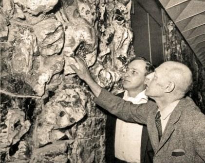 Asger Jorn en Jean Dubuffet, 1961.