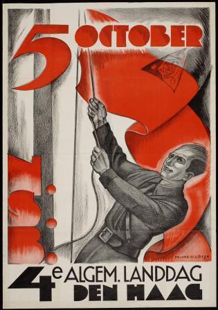 Affiche voor de Landdag Meuldijk, 1939, coll. NIOD.