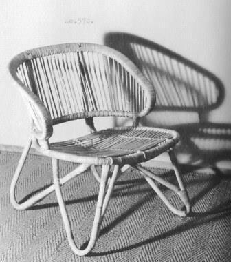 Stoel 570, ca 1954 voor Gebr. Jonker in Noordwolde.