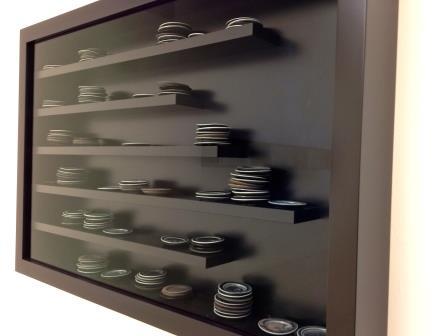 Installatie van De Waal in de Alan Cristea gallery, 2012.