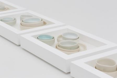 Edmund de Waal, I Know All These, 2012.