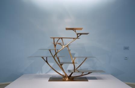 Branche Bookshelf, 2010, brons.