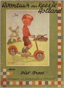 Kinderboek van Piet Broos, 1945.